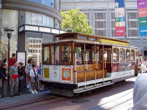 Cable Car at San Francisco