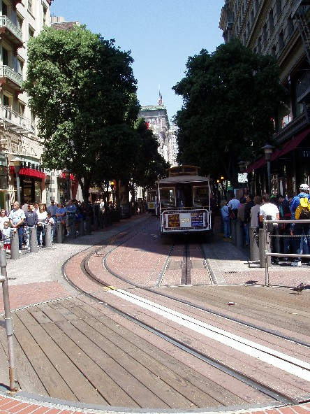 Cable Car at San Francisco 3