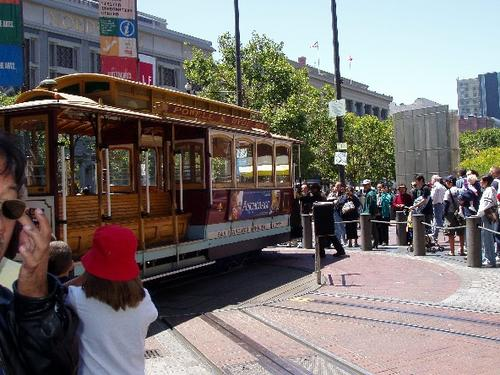 Cable Car at San Francisco 2