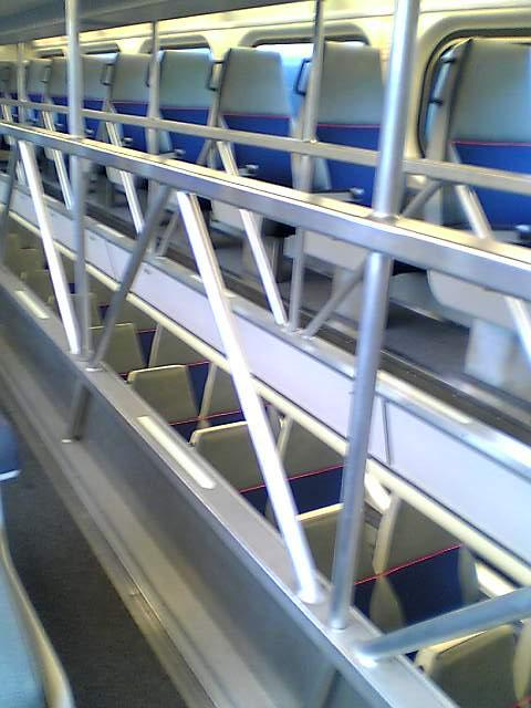 In the Caltrain